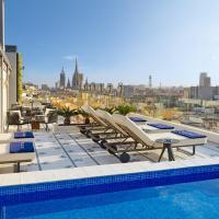 H10 Cubik 4* Sup, hotel in Barcelona