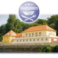 Pension Bootshaus, отель в Вайсенфельсе