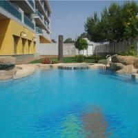 Reception La Rotonda Aparthotel, hotel en Playas de Orihuela