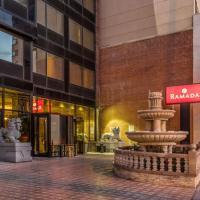 華美達法拉盛皇后酒店,皇后區的飯店