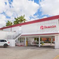 Ramada by Wyndham Miami Springs/Miami International Airport, hôtel à Miami près de: Aéroport international de Miami - MIA