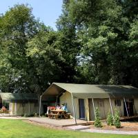 Atmospheric tent lodge with dishwasher, in Twente