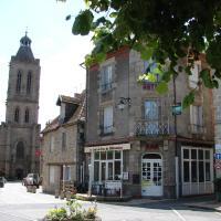 Au Relais du Parc de Millevaches、Felletinのホテル