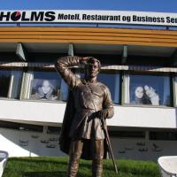 Holms Motel, hotell i Rødbøl