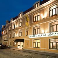 Hotel Aragon, hótel í Brugge