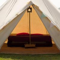 IOM TT Pop Up Hotel by Red Sky Tent Company