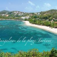 Les bungalows de la plage, hôtel à La Trinité