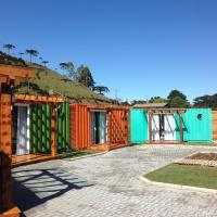 Villa dos Ventos Hospedagem Container, hotel in Bom Jardim da Serra