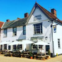 The Angel Hotel, hotel in Lavenham