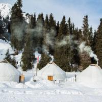 Aksuu Yurt Lodge, hotel in Teploklyuchenka