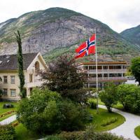Lindstrøm Hotel, hotell på Lærdalsøyri