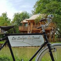 Les Lodges du Canal de Bourgogne, Hotel in Chassey