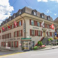 Hotel Landhaus Adler, отель в городе Фрутиген