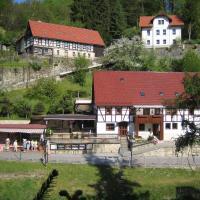 Ferienwohnung Am Grünbach, Hotel in Rathen