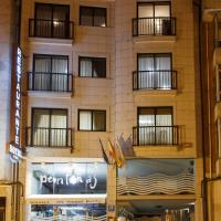 Hotel Restaurante Pontiñas, hotel in Lalín