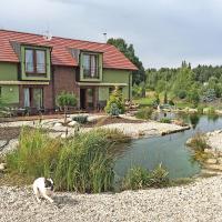 Lake View Apartments near Golf Resort Kunětická Hora, Dříteč, hotel v destinaci Pardubice