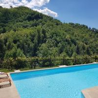 Il Bosco di Campo Marzano rooms & apartments, hotell i Borzonasca