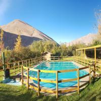 Cabañas Los Sauzales, hotel in Pisco Elqui
