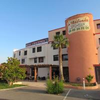 Hôtel L'Hacienda, hôtel à Châteauneuf-les-Martigues