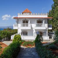 Panoramic view Luxury Villa by the Sea in Paralia Avlidas (Evia)