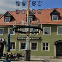 """Haus """"Grüner Baum"""", hotel in Windischeschenbach"""