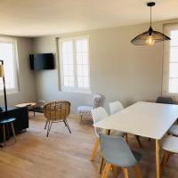 Appartement vue mer refait à neuf, hotel in Merville-Franceville-Plage