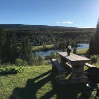 Utsikten i Sälens by