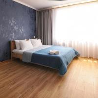 Scandinavian Poltava Apartments with 2 rooms, 3 beds 1 sofa