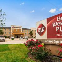 Best Western Plus Carrizo Springs Inn & Suites, hotel in Carrizo Springs