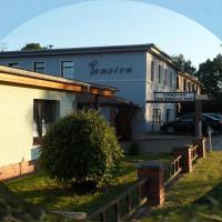 Pension Am Stettiner Haff, отель в городе Иккермюнде