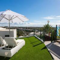 bungalow con gran terraza con vistas