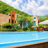 충주에 위치한 호텔 페나테스 풀빌라