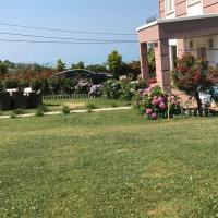 Triplex Villa with Private Garden and Sea View at Cukurcayir District