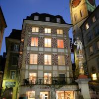 Le Café-Hôtel de L'Aubier, hôtel à Neuchâtel