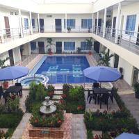 Hotel la fuente j.n, hotel en La Macarena