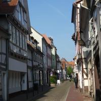 Ferienwohnung Janus Altstadt-Hameln Haus 2 inklusive Parkplatz - mit und ohne Terrasse oder Loggia