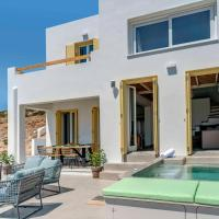 Villa Alba in Syros with private Jacuzzi