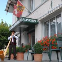 ホテル アルプホルン、インターラーケンのホテル