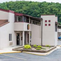 Super 8 by Wyndham Bridgeport/Clarksburg Area, hôtel à Bridgeport