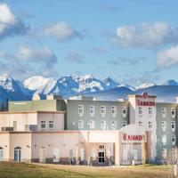 Ramada by Wyndham Hinton, hotel em Hinton