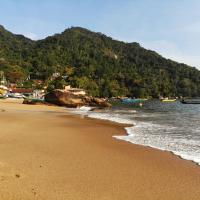 casa praia de picinguaba em ubatuba, hotel in Picinguaba