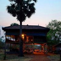 Koh Ker Jungle Lodge, hotel in Phumĭ Kaôh Kért
