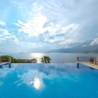Villa Poseidon-in winter heated outdoor pool