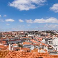 New!Lisbon's Breathtaking view 3Bdrs&3Bth AC 1st floor