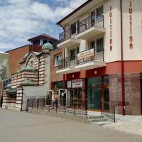 Orava- Justína, hotel v Trenčianskych Tepliciach