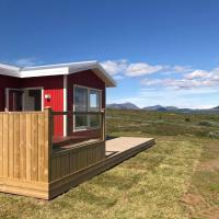 Blue View Cabin 1B With private hot tub, hótel í Reykholti