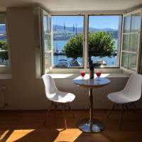 Gemütliche Ferienwohnung Zürichsee, Seeblick, am Hafen Stäfa, hotel in Stäfa