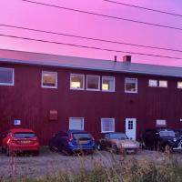 Midnattsol rom og hytter