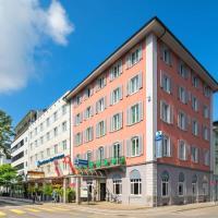Hotel Wartmann am Bahnhof, hotel en Winterthur