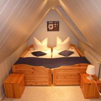 romantisches Ferienhaus Boddenblick mit Sauna、Pruchtenのホテル
